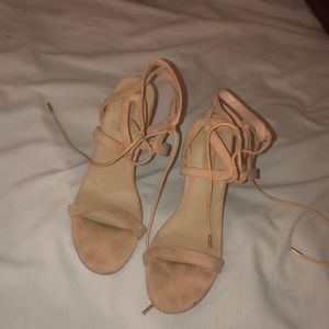 Beautiful Tie up Heels!